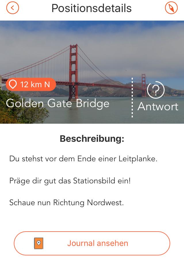 Adventure Lab App: LabCache Beschreibung